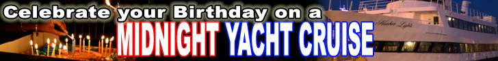 Birthday Packages - Midnight Cruise - www.lowerdeckproductions.com - Lower Deck Productions